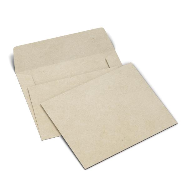 modell fuer leeren papierumschlag