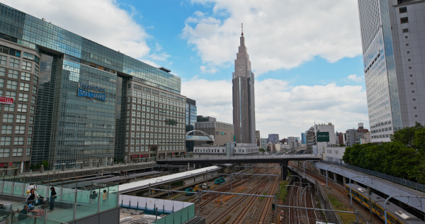 tokio japan 29 juni 2019 bahnhof