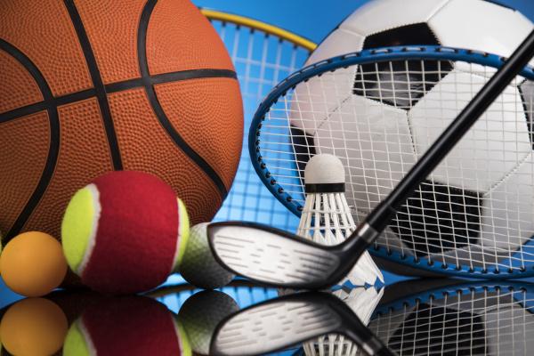 sportgeraetegruppe gewinnerhintergrund