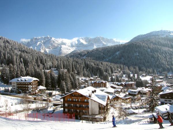skifahren in madonna di campiglio
