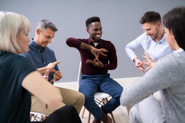 gehoerlose lernen gebaerdensprache