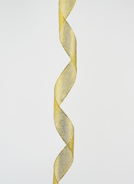 verdrehte goldene seide dekorative band fuer