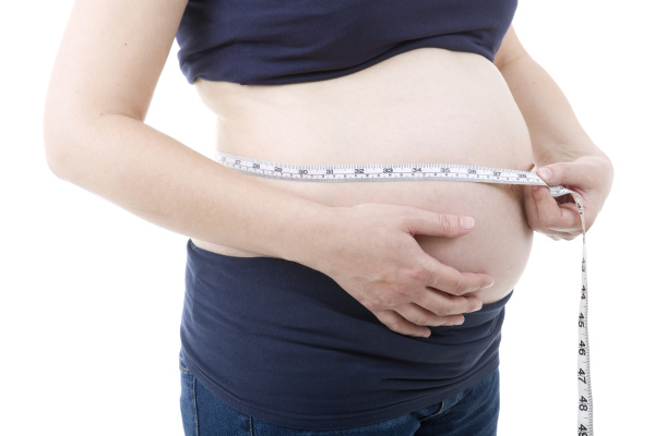 pregnant woman without isolated