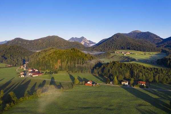deutschland bayern oberbayern isarwinkel jachenau laendliche