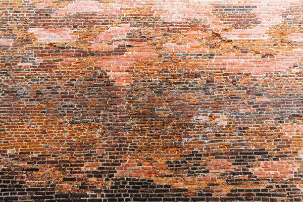 alte bausteinmauer alte europaeische stadt