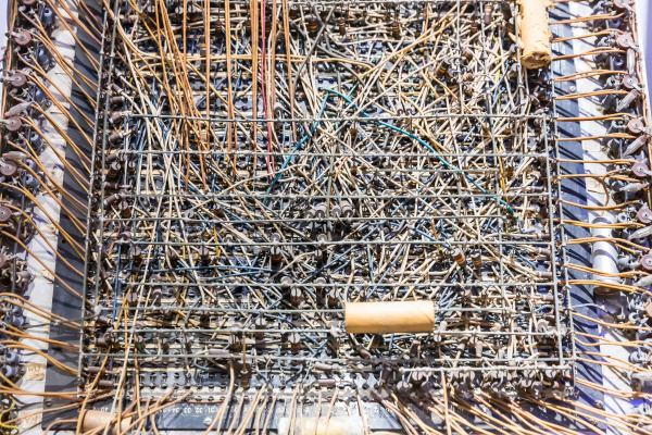 retro analogtechnik ausstellung im computermuseum