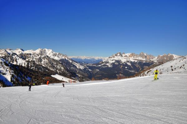skifahren, in, südtirol - 28131858