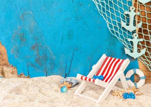 strandurlaubskonzept