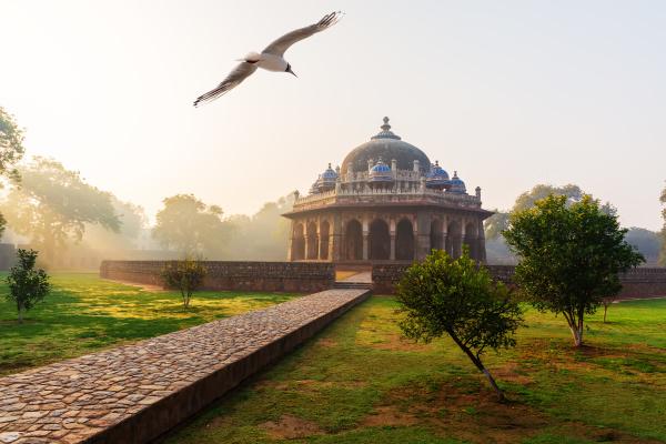 isa khan mausoleum der humayun grabkomplex