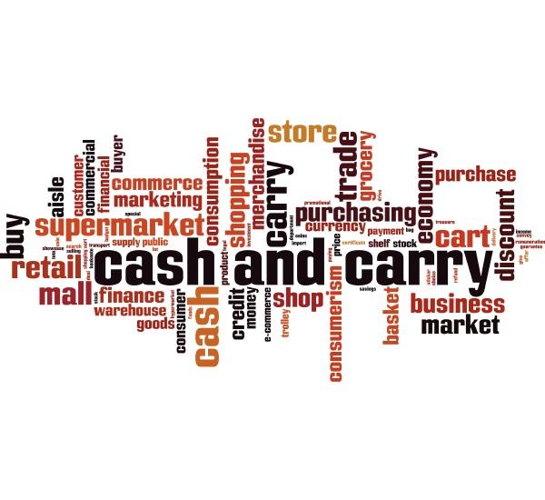 cash carry wortwolke