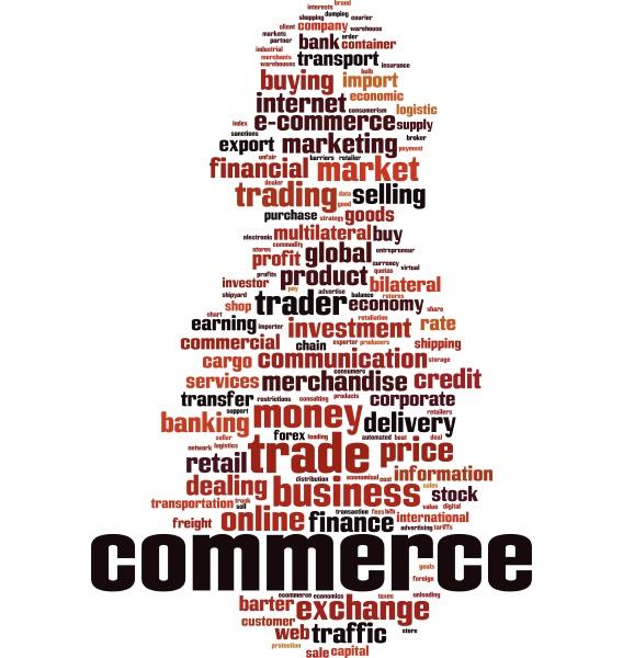 commerce wort cloud