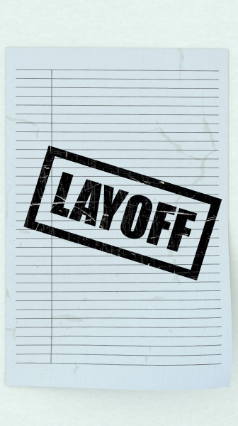 3d wiedergabe von entlassungsformulierungen mit zeilenpapier