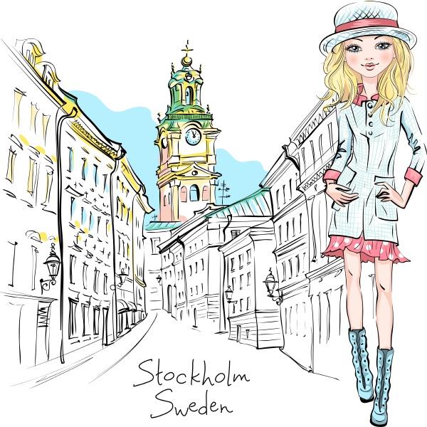 modemaedchen in stockholm