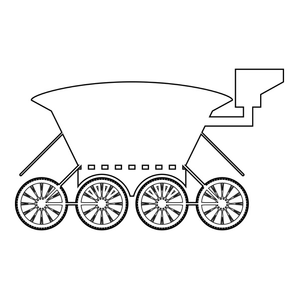 mond rover mars explorer raum maschine