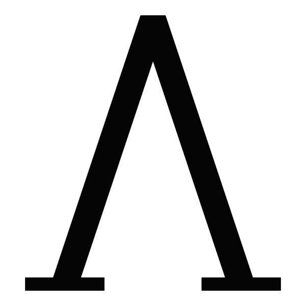 lambda griechischen symbol grossbuchstaben grossbuchstaben schriftsymbol