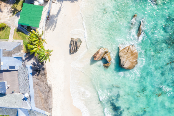 seychellen takamaka strand mahe insel villa