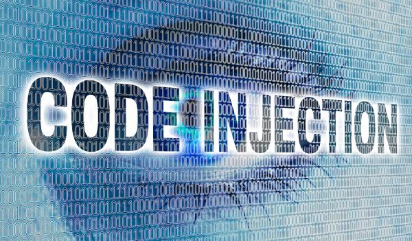 code injektionsauge mit matrix betrachtet viewer