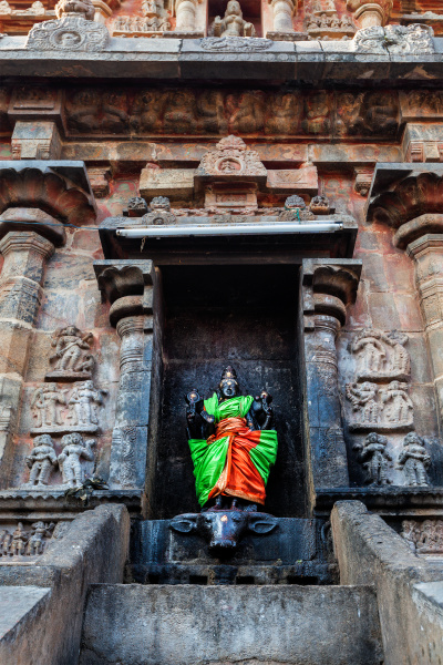 durga, bild, airavatesvara, tempel, darasuram - 28390184