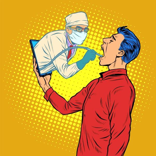 remote arbeit online hilfe zahnarzt bohrt