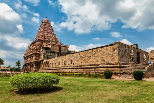 gangai, konda, cholapuram, temple, one, of - 28409912
