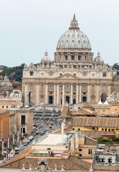 vatikan und basilika des