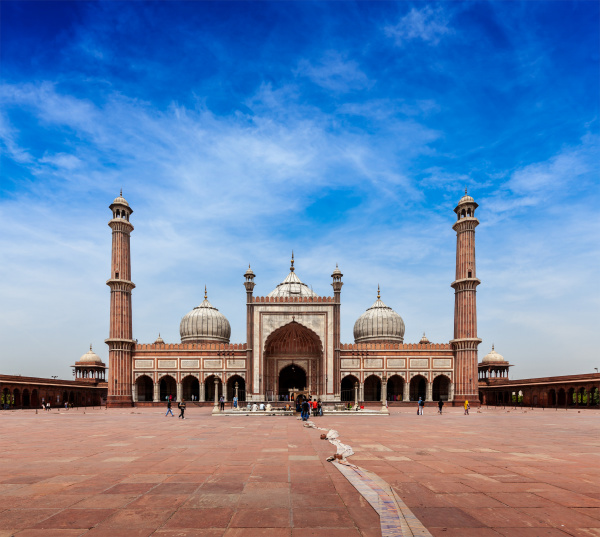 jama masjid groesste muslimische