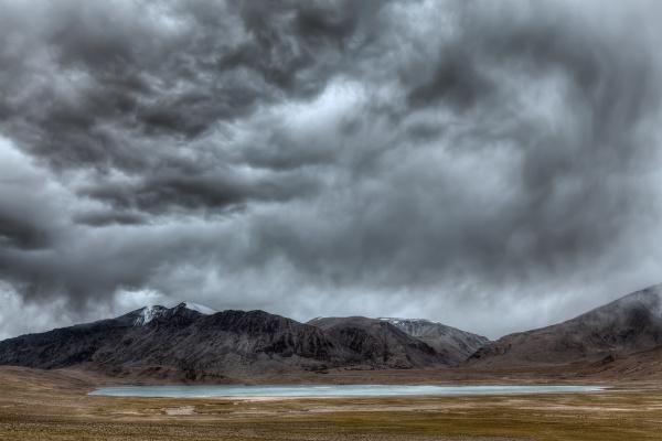 himalayan, lake, kyagar, tso, , ladakh, , india - 28469815