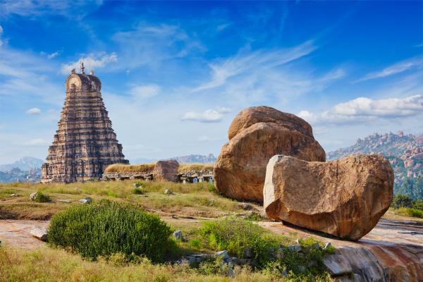 virupaksha tempel hampi karnataka indien