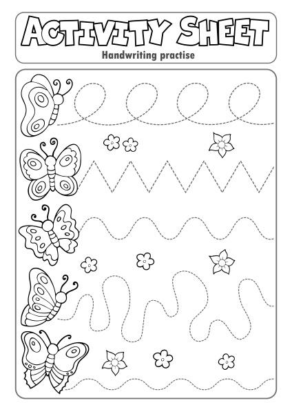 aktivitaetsblatt handschrift UEbungsthema 3