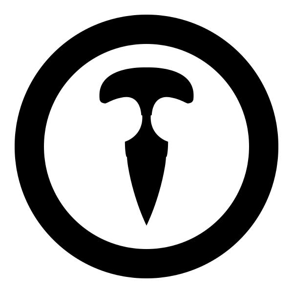 knoechel messer symbol im kreis runde