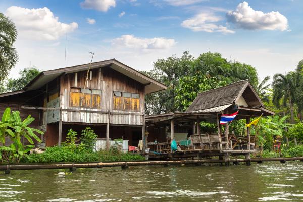 leben, entlang, des, flusses, in, bangkok - 28532773