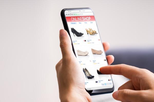 telefon mit online shopping shop