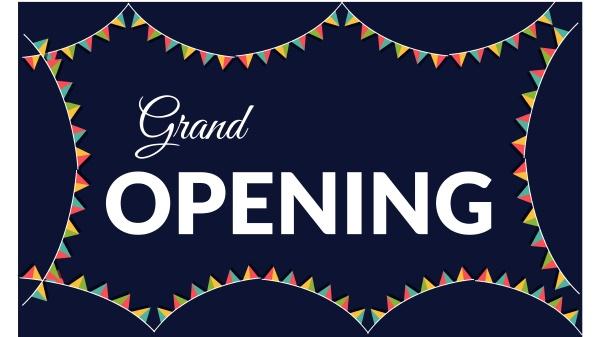 grand, opening, einladungskarte, ist, nur, für - 28579266