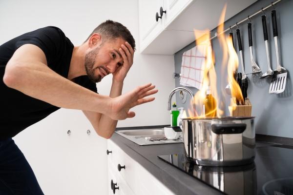 bad cooking unfall katastrophe in der