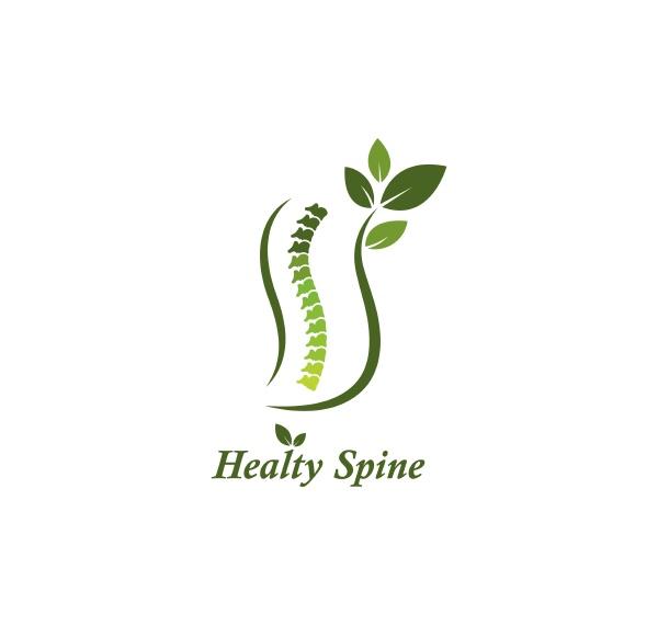 spine diagnose symbol logo vorlage vektor