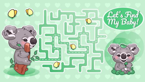 lassen sie mein baby gruenes labyrinth
