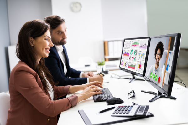 online video konferenz marketing meeting