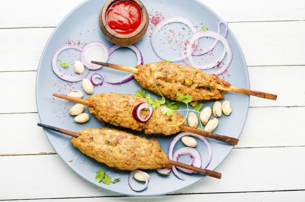 lula kebab auf stock