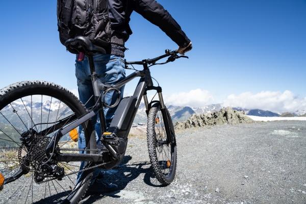 e fahrrad in OEsterreich mountain