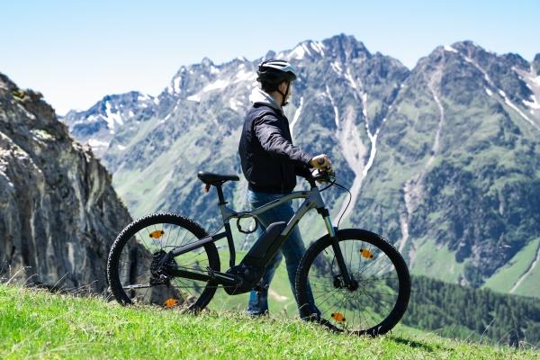 e fahrrad in OEsterreich mountainbike