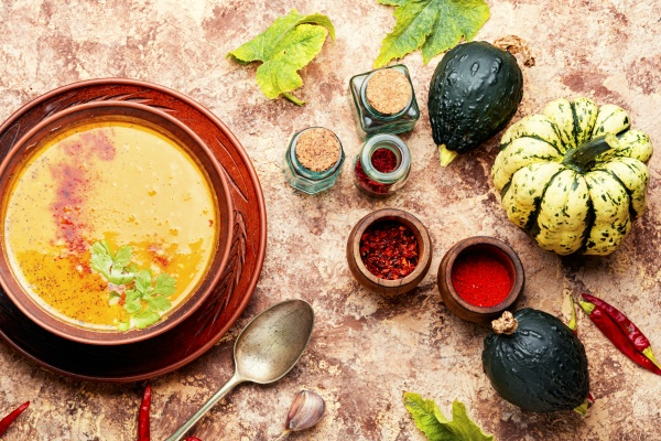 herbst kuerbissuppe