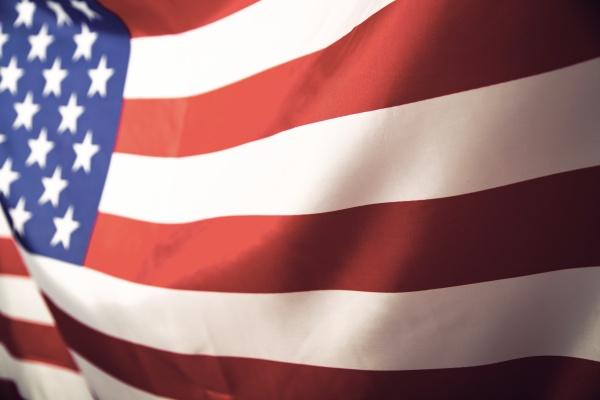 nahaufnahme der amerikanischen flagge
