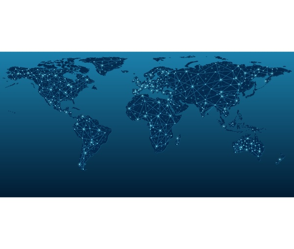 world map kommunikationsnetze