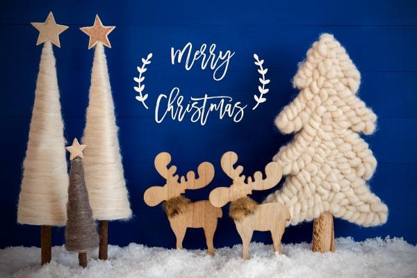 weihnachtsbaum, elch, schnee, text, frohe, weihnachten - 28941676