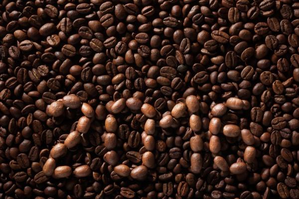 inschrift 2016 aus kaffeebohnen
