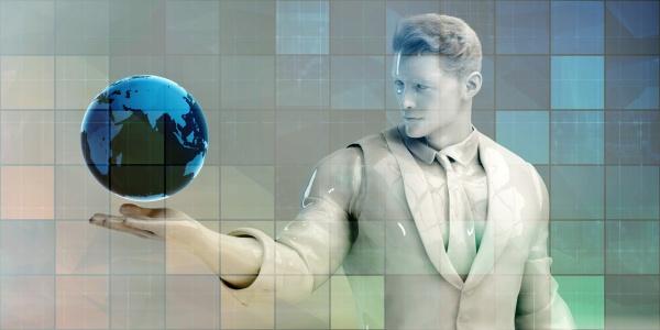 futuristisches technologiekonzept