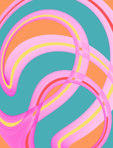 abstrakter mehrfarbiger hintergrund digitales artwork designelement