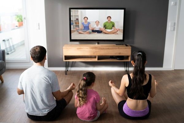 familie tun yoga meditation online kurs