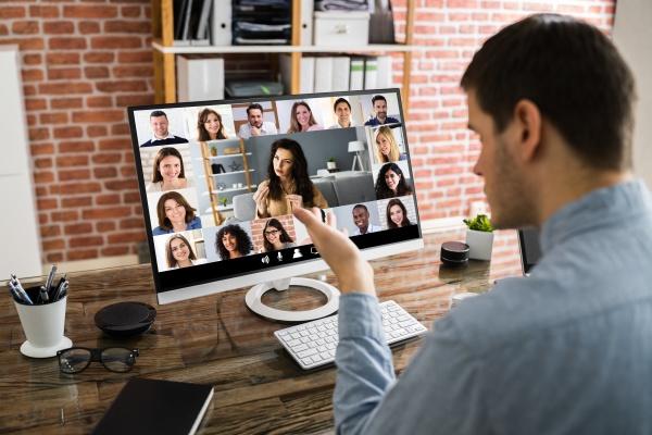 webinar meeting aufruf fuer online videokonferenzen