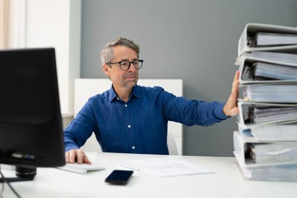 digitale rechnungssteuer software papierdokument